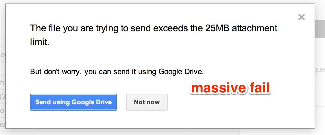 Twitter / antrod: Wow, Gmail now capping ...