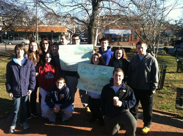 MT @ndrewalmeida: @NECN bake sale in Winthrop Ma. All proceeds go towards victims of the Newtown tragedy http://pic.twitter.com/0xYcMDTp #EdChatMA