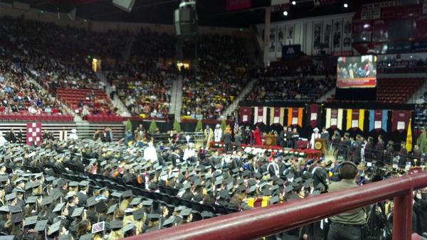 NMSU 2012 graduation. http://pic.twitter.com/4ysSfdET