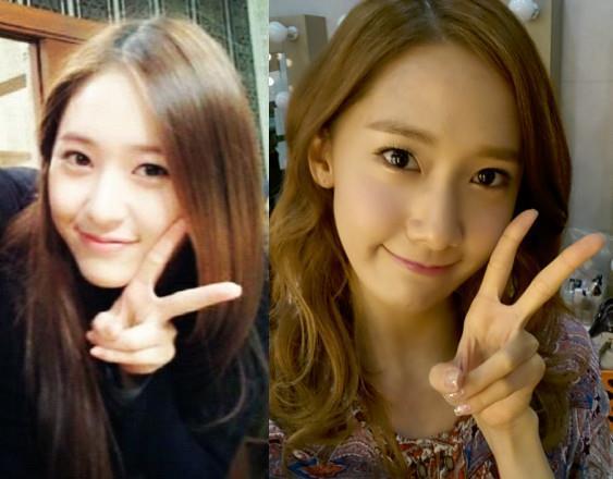 Did you know these K-Celebrities looked alike? Krystal Jung And Yoona Look Alike