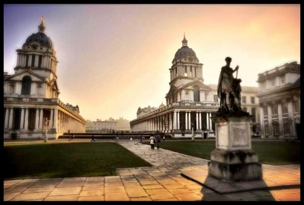 This is very nice of the Old Royal Naval College - thank you Brian Benson!