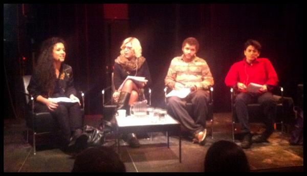 Athena Farrokhzad moderator, @UlrikaDahl , @NathanHamelberg och @LawenMohtadi är på plats. #vitnorm http://pic.twitter.com/ZlTUvDTi