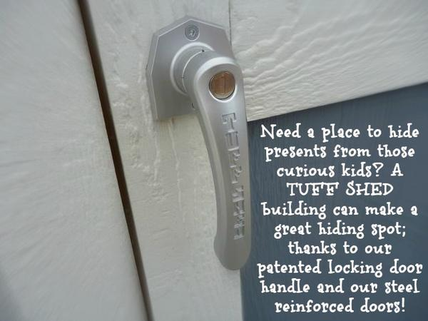 tuff shed locking door handle ~ tuff shed designs
