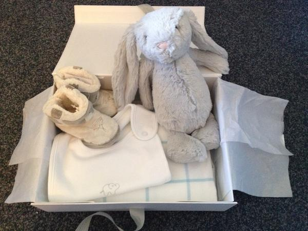 Thank you @FulhamFC for Joseph's lovely goodies.  Bashful bunny is almost as big as him #thankyou http://pic.twitter.com/ctKz6JRW