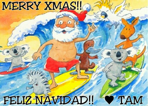 @PapeRadioActiva My Pape, #Wishing you &amp; the family a Great #Xmas!! #Deseandoles a todos una Gran #Navidad!!  Tamara<br>http://pic.twitter.com/GUhjdjZK