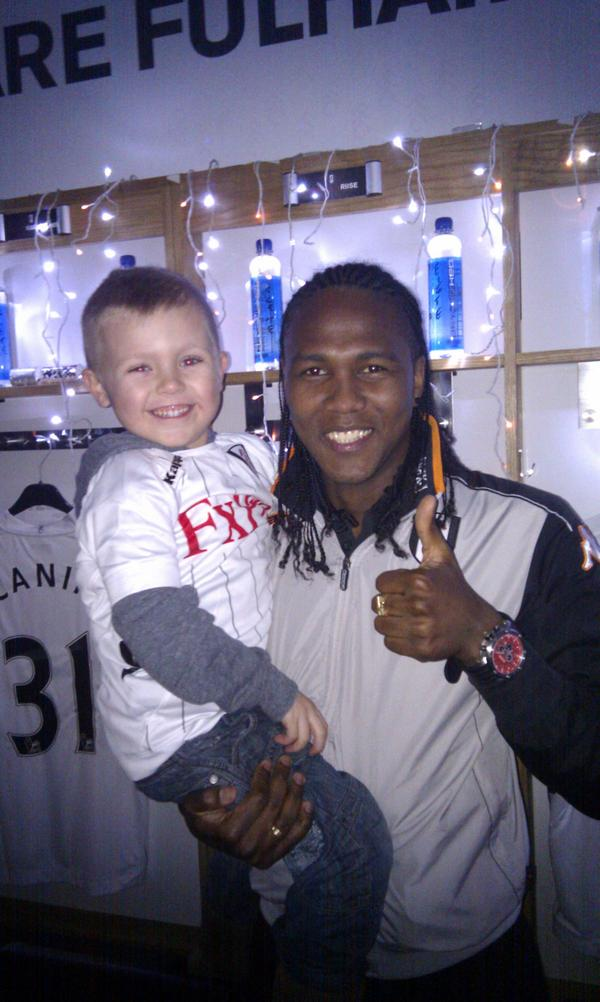 Jack had a great time @FulhamFC  for Xmas at the cottage http://pic.twitter.com/YxlhpJ9F