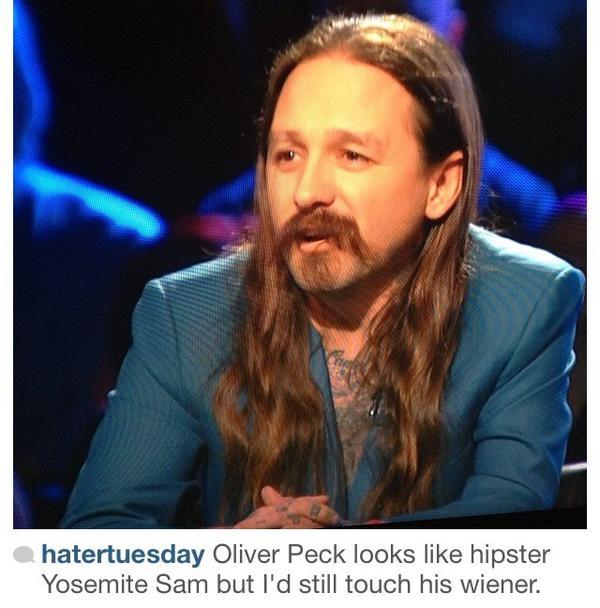Oliver peck girlfriend