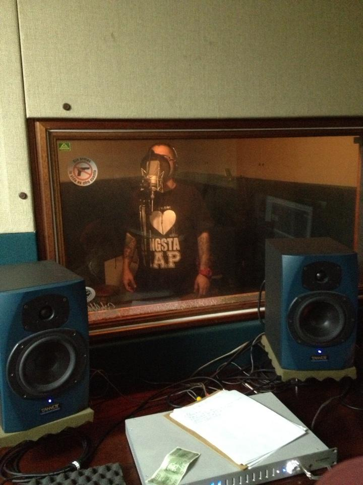 studio in the booth picture don pini medellin colombia picture