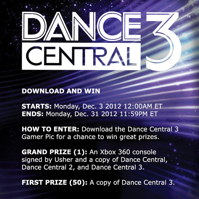 Xbox On Twitter Enter To Win Download The Dancecentral3 T Gamer Pic On Xbox Live For Your Chance To Win Http T Co Pk1gb5ix
