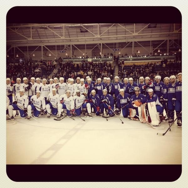 Final score 14-10 for Team @RealStamkos91! #RBCCharityChallenge http://pic.twitter.com/Wn0W38xP