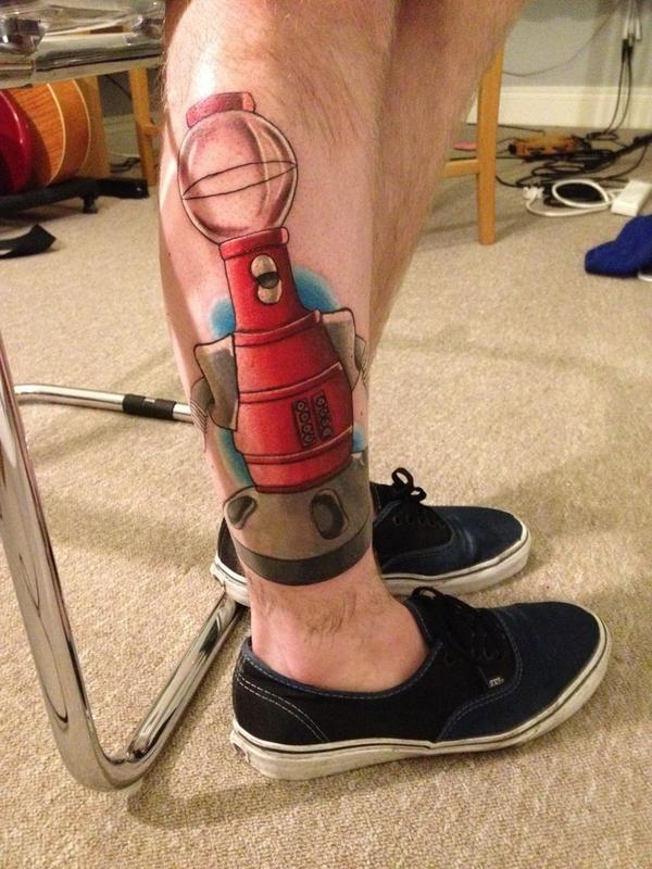 Patty is okay on twitter markhoppus this is my tom for Tom servo tattoo