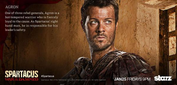 Hot spartacus Spartacus (TV