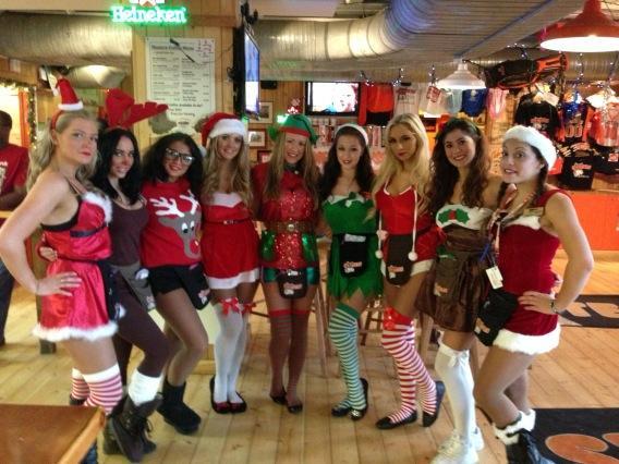hooters girls nottingham