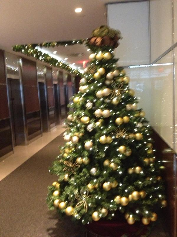 @wsjny The festive lobby of 16 Court St, downtown Brooklyn http://pic.twitter.com/E1B5bRM2