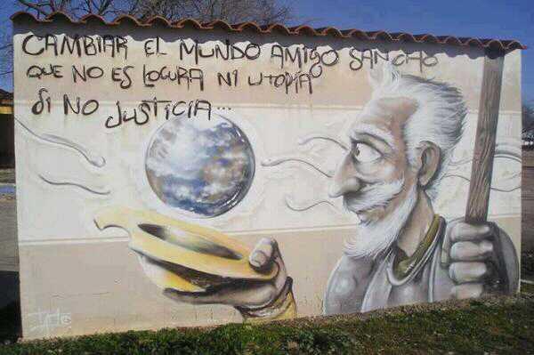 Citas Célebres On Twitter Cambiar El Mundo Amigo Sancho