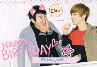 Happy yummy Bday my beloved Onnie @siena_407 (((o(*゚▽゚*)o))) xoxo http://t.co/sMkdr2ET