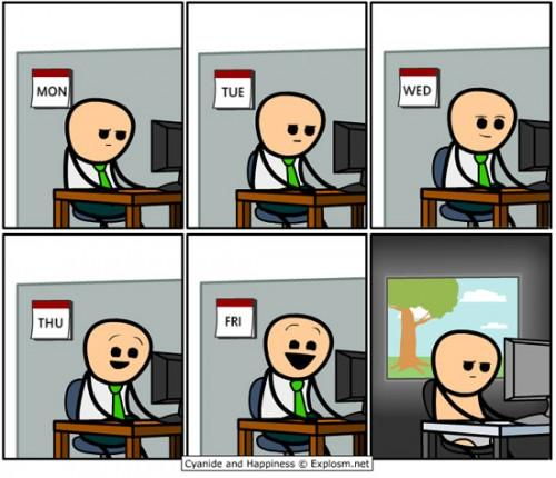 Week in the life of a programmer http://t.co/9SHZArcj