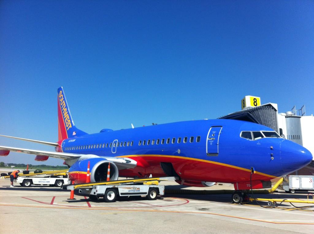 So true. So true. RT @CAKairport: Into week 2 of @SouthwestAir service at CAK and we couldn't be happier. http://t.co/QFwpkK0U