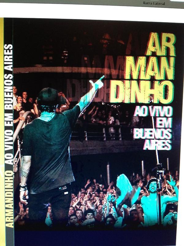 dvd armandinho ao vivo em buenos aires 2012