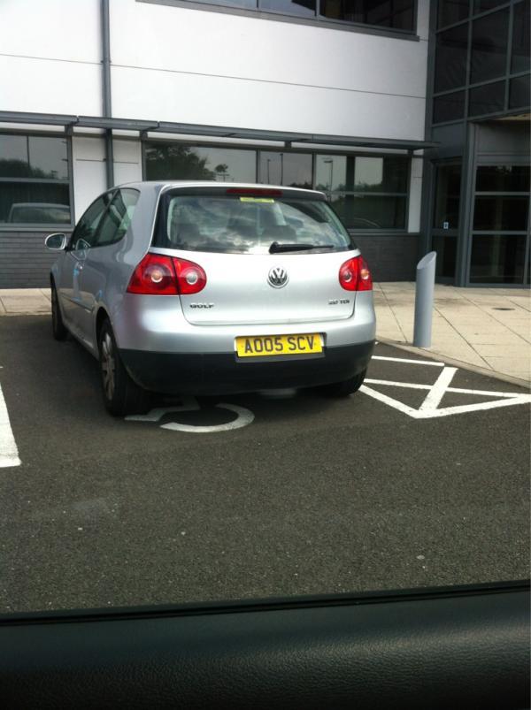 AO05 SCV displaying crap parking