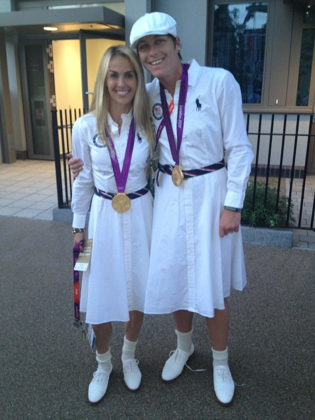 """Heather Mitts on Twitter: """"@AbbyWambach looking hot. Go ..."""