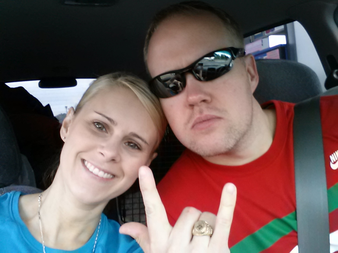 husband Mark Nichols and wife Colerre Lemon