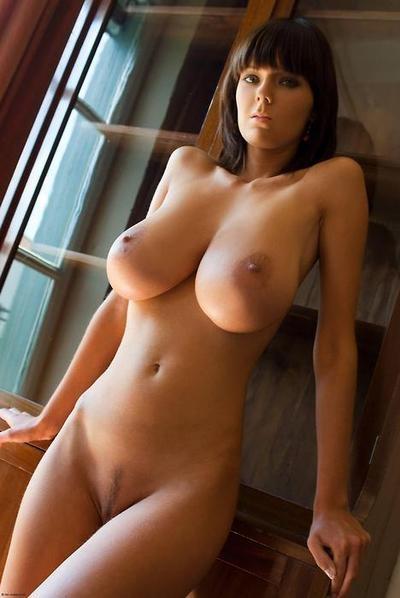 Incredible boobs naked
