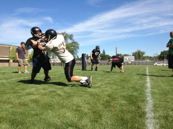 South HS football already taking plenty of hits. Week 1 of practice ends with only 46 players. #salvagesouth #mshsl http://pic.twitter.com/y6kieC6i