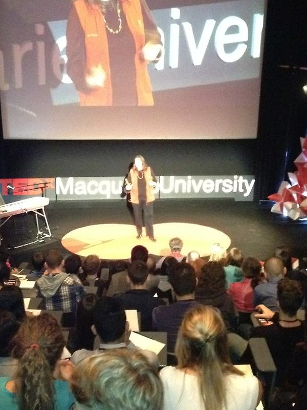 #TEDxMacUni welcome by and respect to the Aboriginal people and original custodians of the land. http://t.co/sTdFEzp9