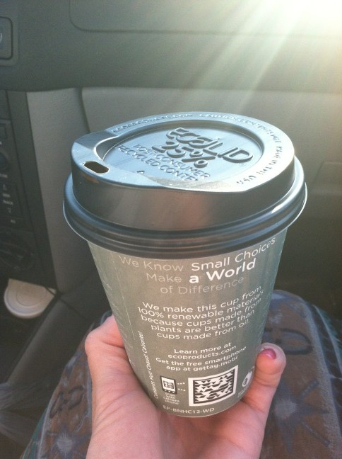 Another reason to love the Pump Station in Boalsburg--Eco Friendly to go mugs! #local #goodmorning http://t.co/pe2yx3Qr