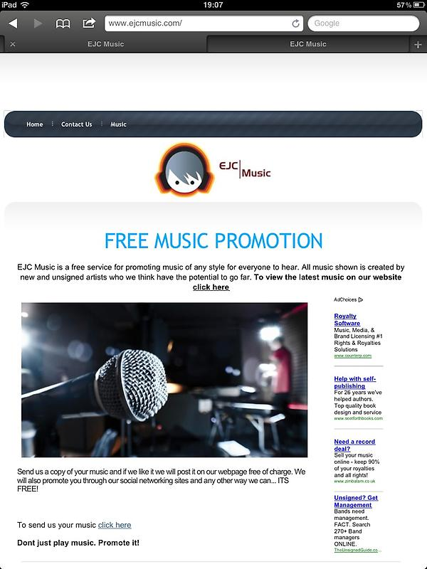 EJC Music Promotions (@EJCMPromotions) | Twitter