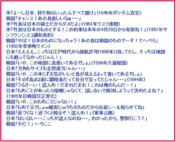 RT @Yc_Kz: 竹島の歴史わかり易すぎワロタ→ http://t.co/bth6rKz7