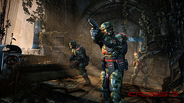 Here's a new screenshot from the Hunter mode in #Crysis3. Want more? We'll share another tomorrow if this gets 50 RTs. http://t.co/TpyM4yvi