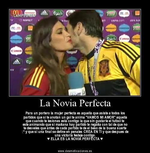 Motivaciones Fútbol On Twitter La Novia Perfecta Para Un