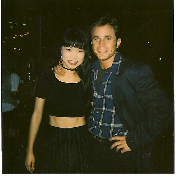 David Yost tweeted a photo of him with Thuy Trang
