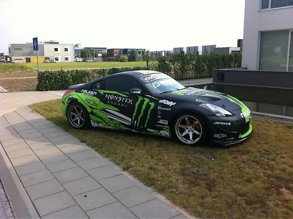 Michiel Van Wulfen On Twitter Nissan 350z In Een Matte Monster
