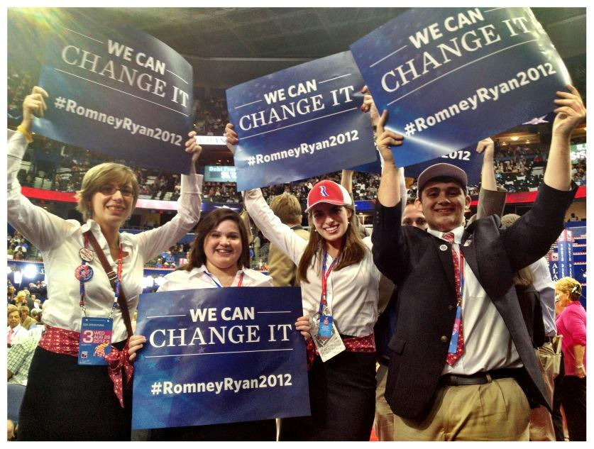 Twitter / MittRomney: PHOTO: #WeCanChangeIt #gop2012 ...