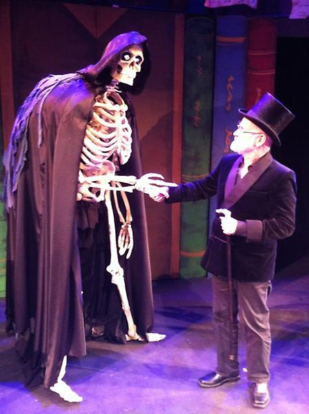 Shaking hands with DEATH at the Rose Theatre Kingston