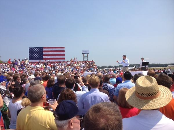 Virginia is fired up for victory! Thanks to enthusiastic supporters who helped us welcome @PaulRyanVP to Richmond! http://t.co/5eWlgO8G
