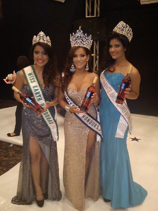 Jennifer Andrade Crowned Miss Universo Honduras 2012