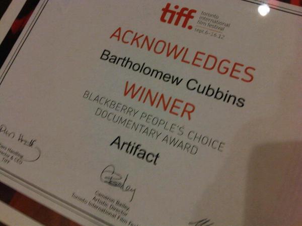 """EVENEMENT! """"Artifact"""" a été selectionné pour le Festival International du Film de Toronto (TIFF) - Page 4 A27oIn2CUAECrKA"""