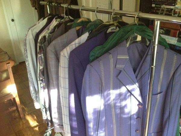 Purple suit collection