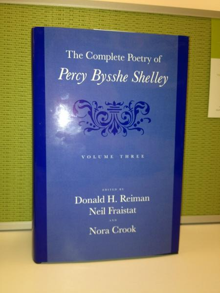 At long last, I can hold Vol. 3 of Complete Shelley in my hands! http://t.co/QNCLVKia