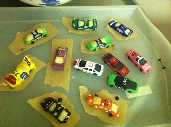 EJ Clarke on Twitter Jut spent 6 hours painting toy cars like