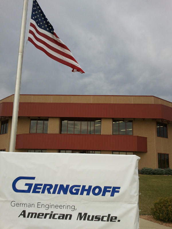 Geringhoff plant announcement in St. Cloud, MN