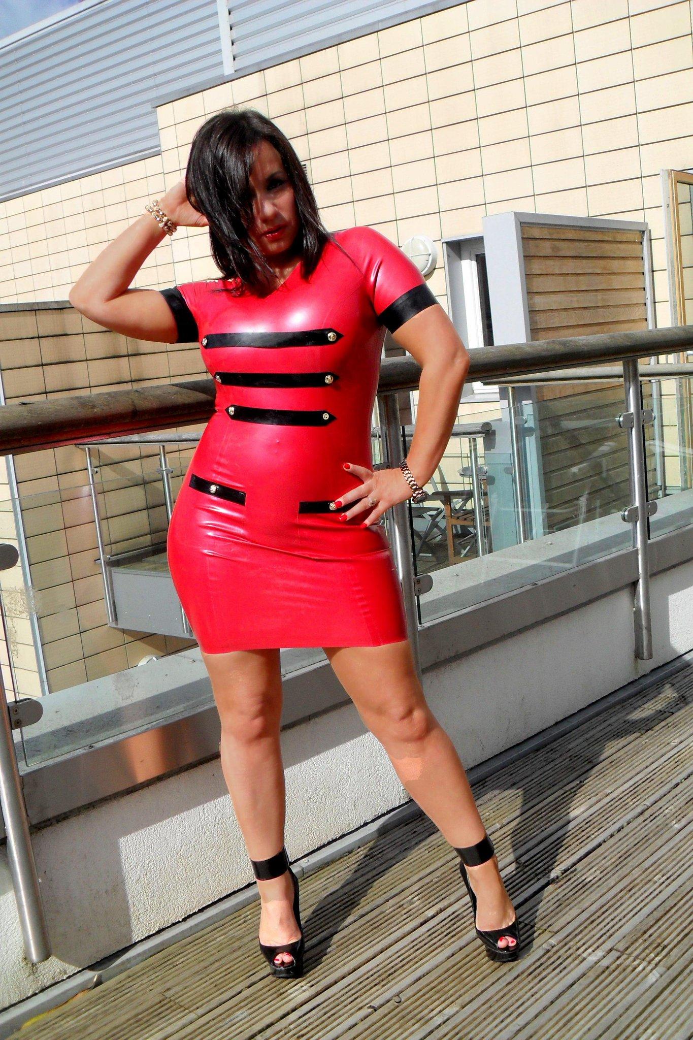 Mistress Real on Twitter: Just LURVVVE My new dress ! #