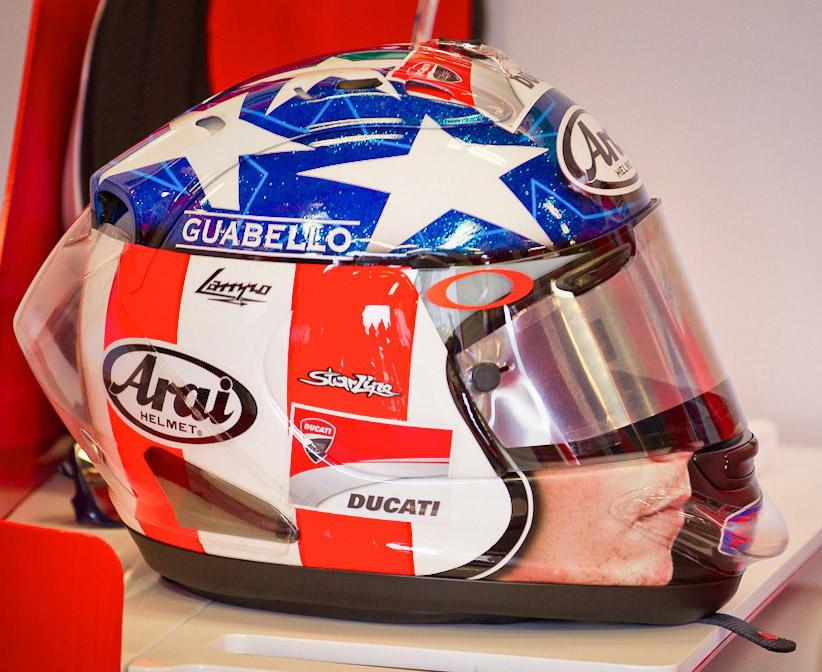 MotoGP: Nicky Hayden's Replica 'Easy Rider' helmet to be ...