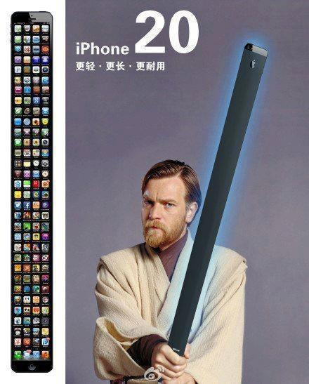 Spit my drink out all over my keyboard when I saw this. HAHAHAHAHAHAHAHA #iPhone20 http://t.co/uSfckcGe