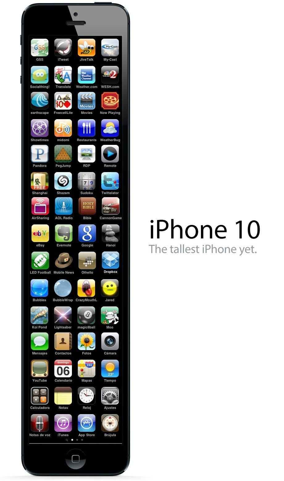 Twitter / avalonmedialab: Apple's iPhone 10 ? ...