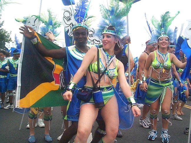 Casey Palmer at Caribana 2003 (or so).